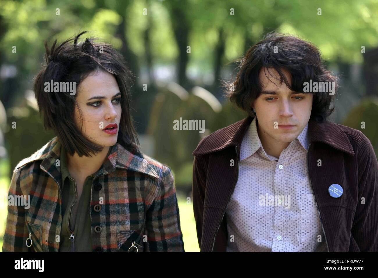 ENGLAND IS MINE, JESSICA BROWN FINDLAY , JACK LOWDEN, 2017 - Stock Image