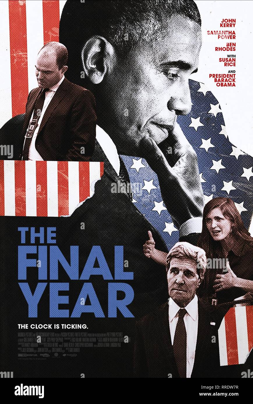 THE FINAL YEAR, MOVIE POSTER, 2017 - Stock Image
