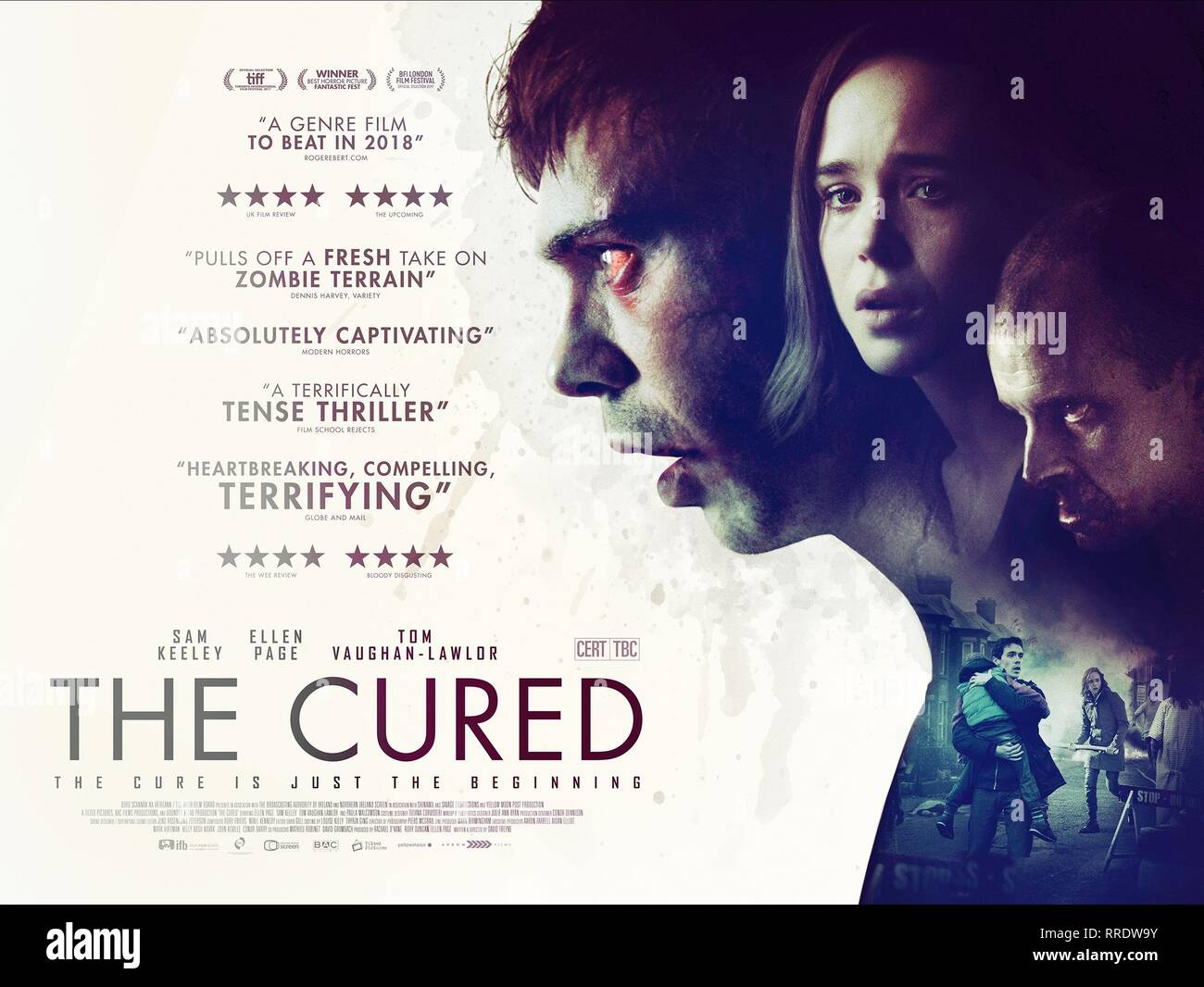 THE CURED, MOVIE POSTER, 2017 - Stock Image