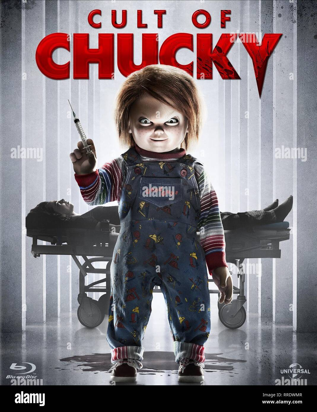CULT OF CHUCKY, CHUCKY POSTER, 2017 - Stock Image