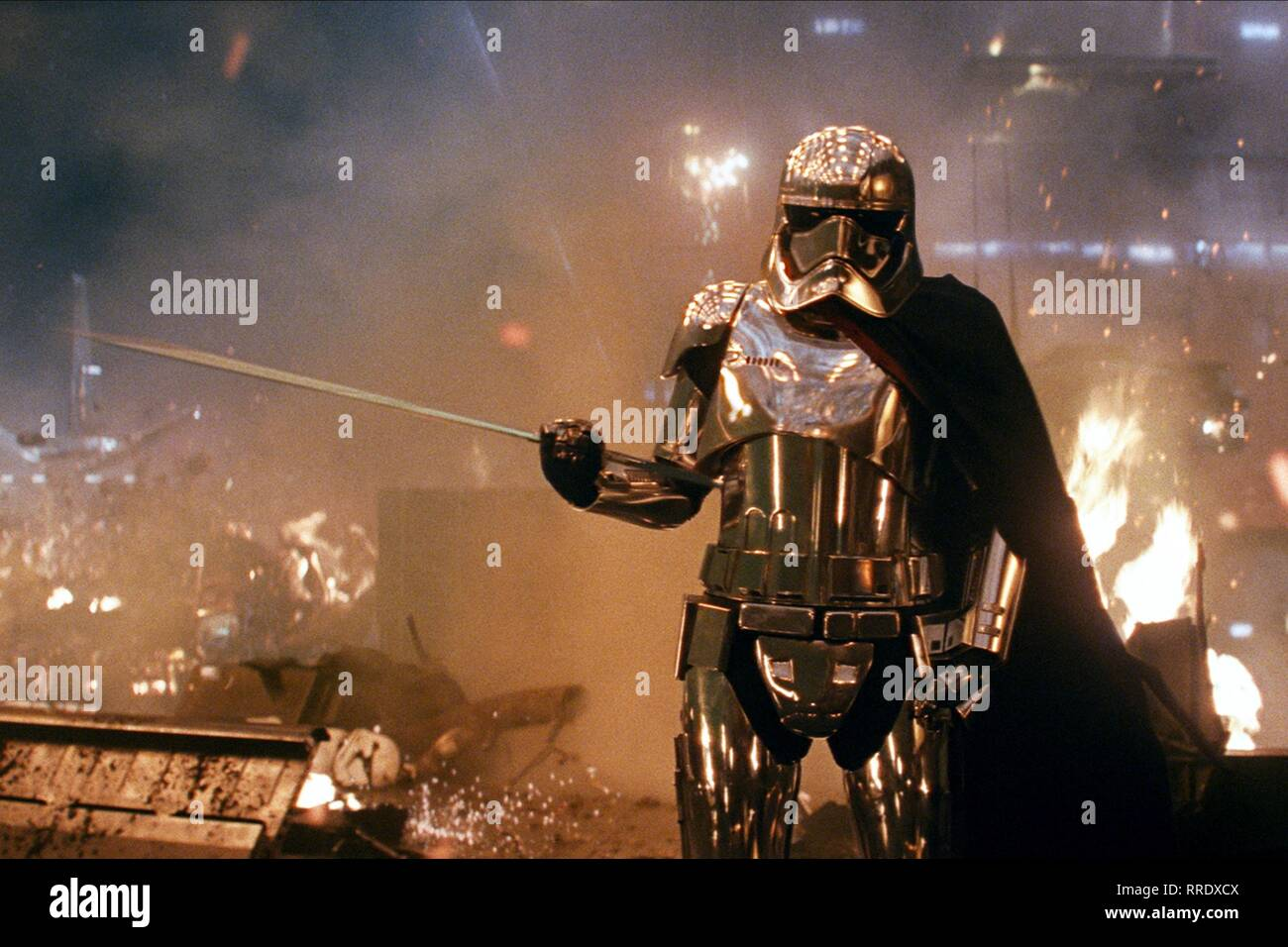STAR WARS: THE LAST JEDI, GWENDOLINE CHRISTIE, 2017 - Stock Image