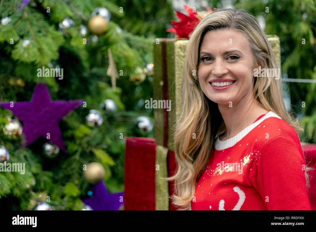 MISS CHRISTMAS, BROOKE D'ORSAY, 2017 Stock Photo