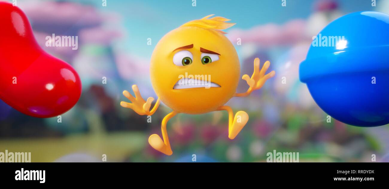 THE EMOJI MOVIE, GENE, 2017 - Stock Image