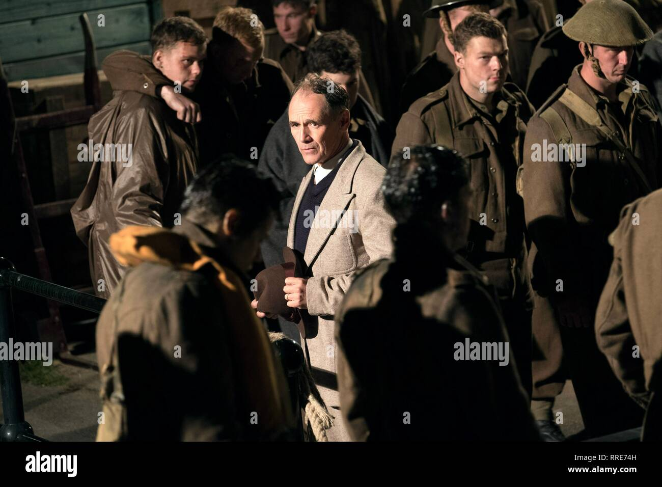 DUNKIRK, MARK RYLANCE, 2017 - Stock Image