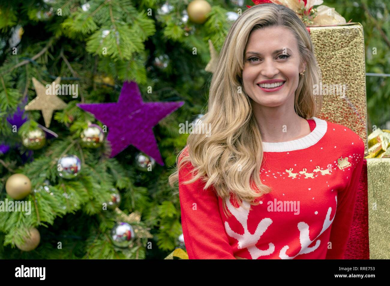 MISS CHRISTMAS, BROOKE D'ORSAY, 2017 - Stock Image