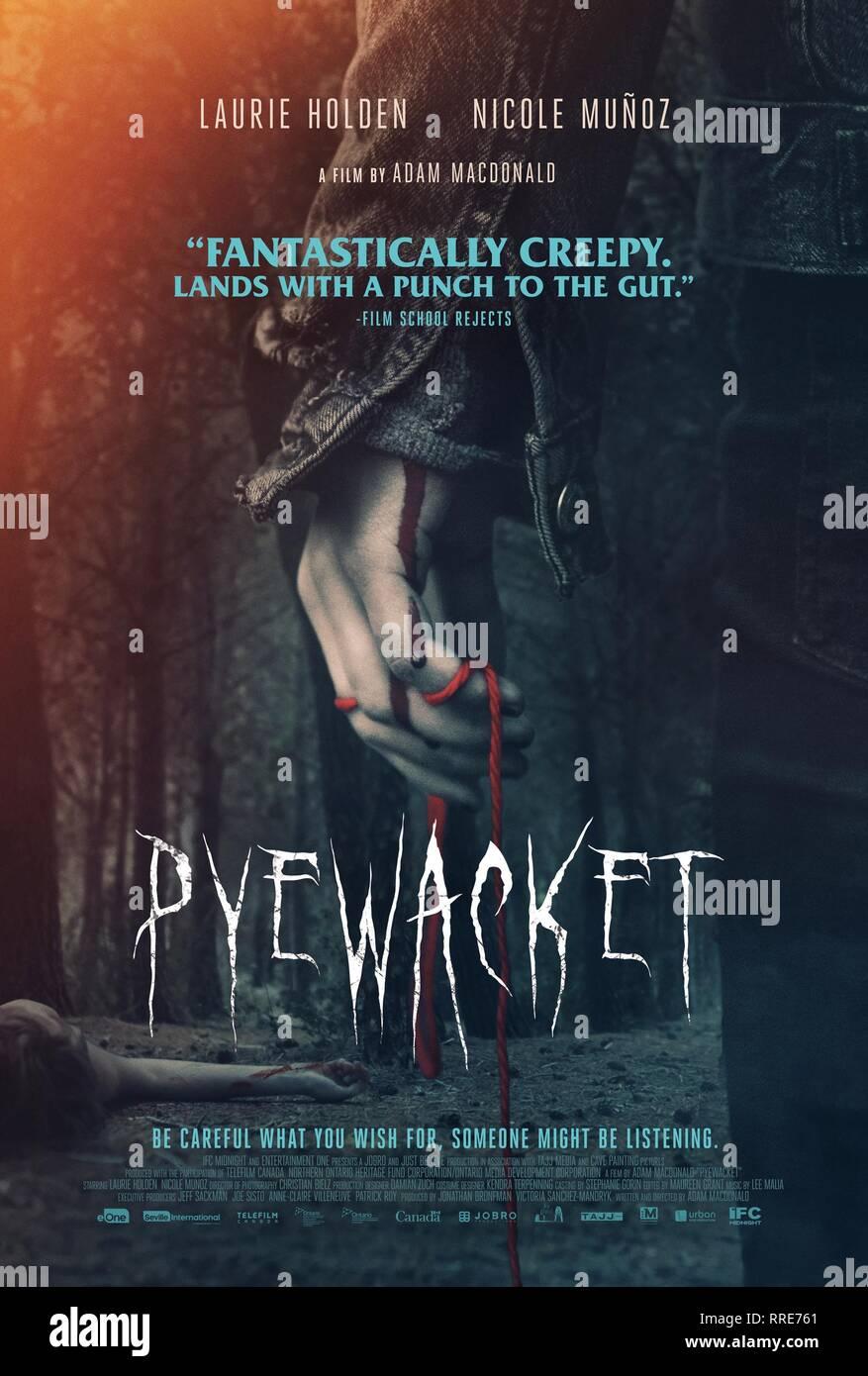 PYEWACKET, MOVIE POSTER, 2017 - Stock Image