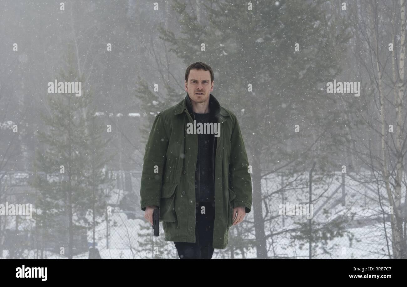 THE SNOWMAN, MICHAEL FASSBENDER, 2017 - Stock Image
