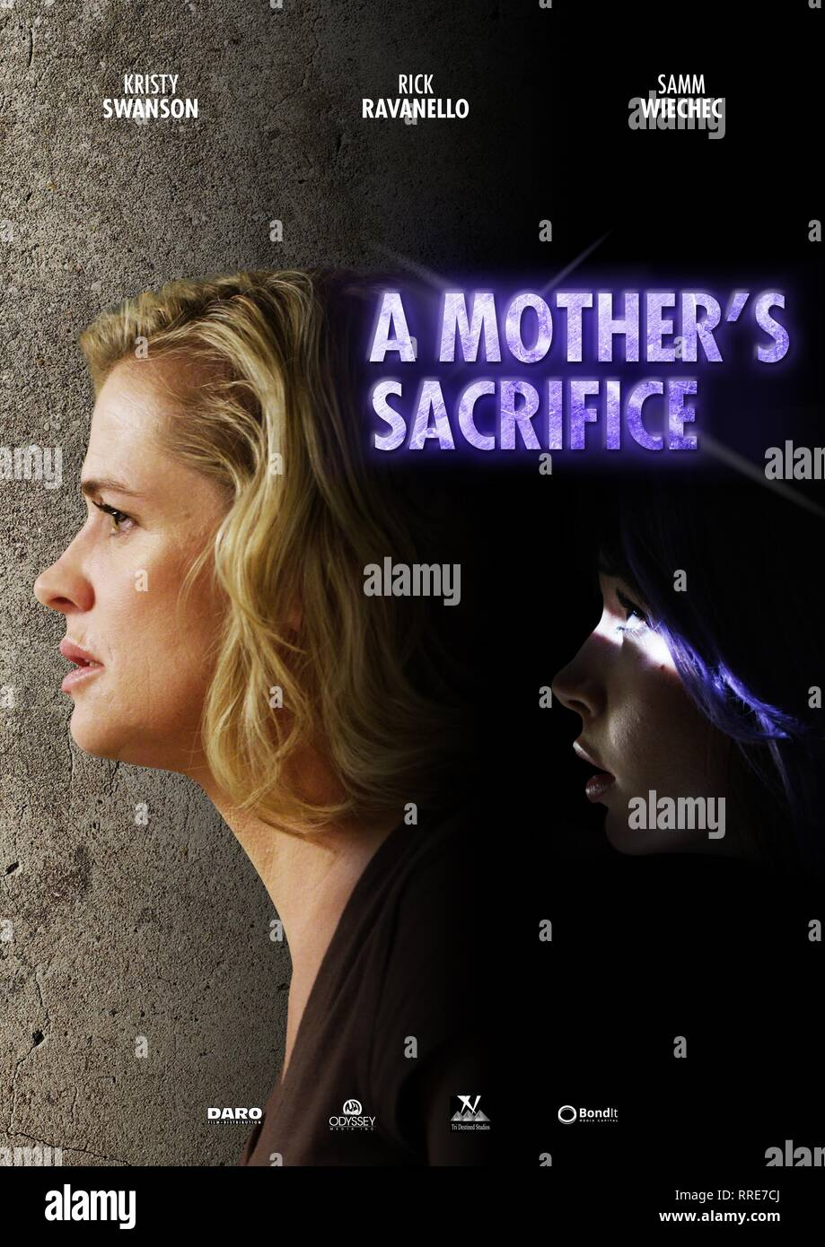 A MOTHER'S SACRIFICE, MOVIE POSTER, 2017 - Stock Image