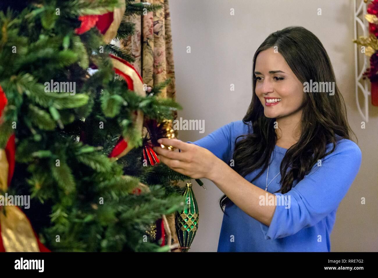 Coming Home For Christmas.Coming Home For Christmas Danica Mckellar 2017 Stock Photo