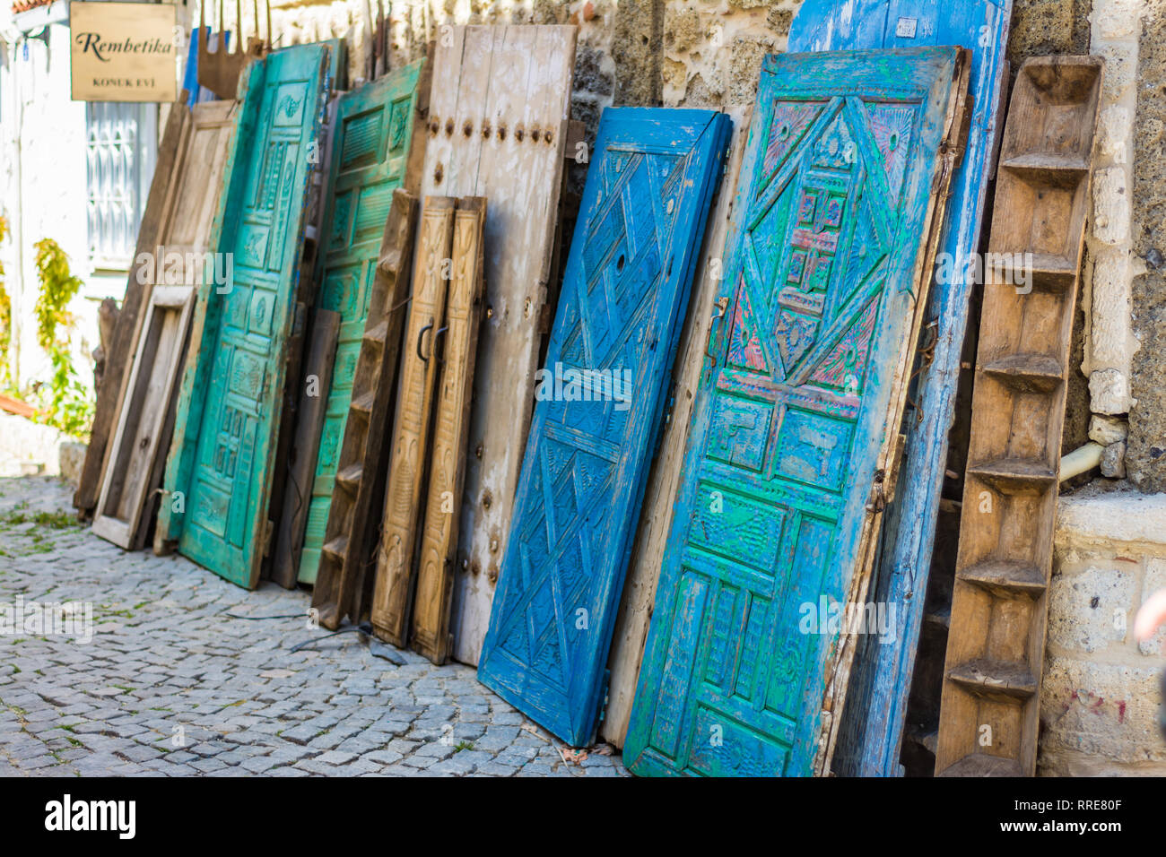 Carved Wooden Door For Sale on