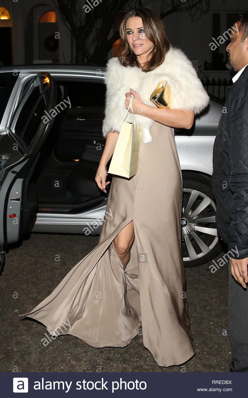 Really. Elizabeth hurley see through dress entertaining