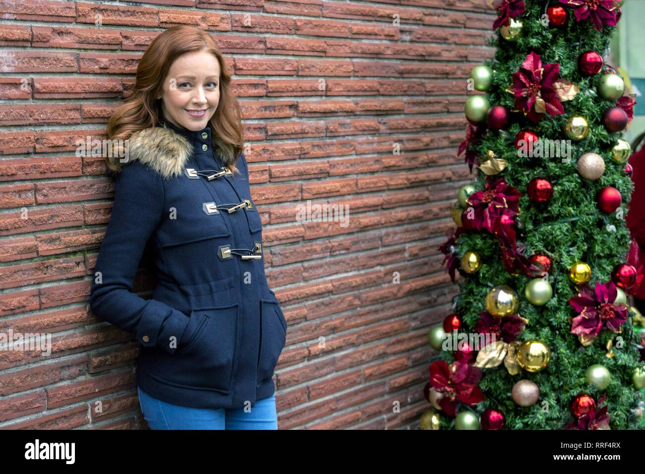 Rocky Mountain Christmas.Rocky Mountain Christmas Lindy Booth 2017 Stock Photo