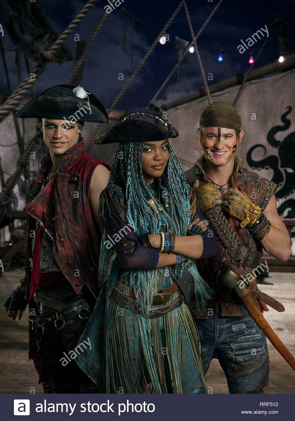 DESCENDANTS 2, THOMAS DOHERTY, CHINA ANNE MCCLAIN , DYLAN PLAYFAIR, 2017 - Stock Image