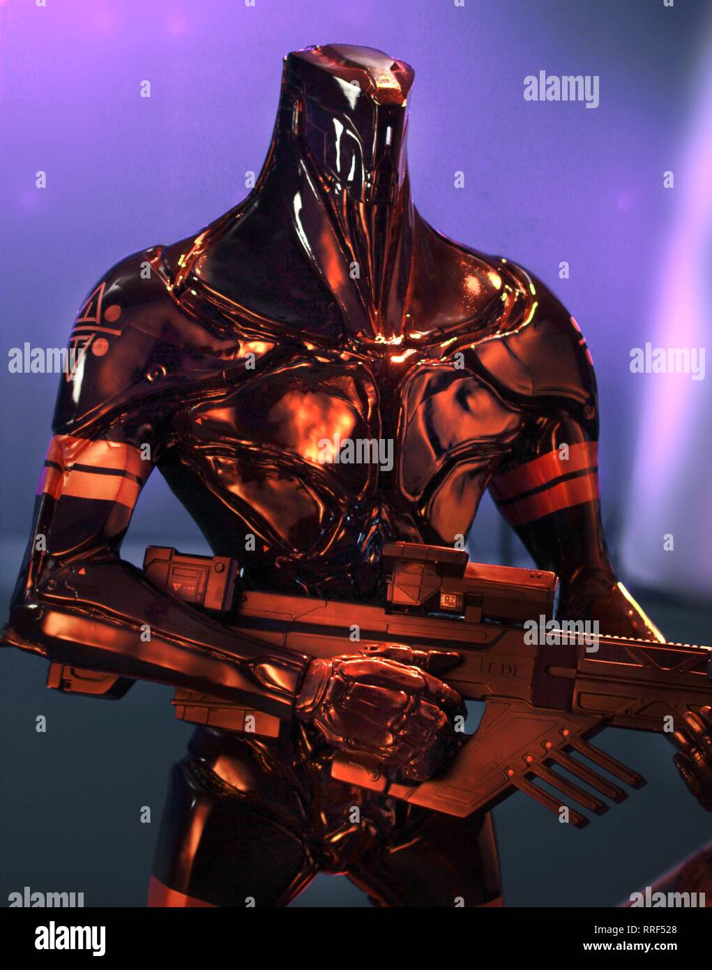 Valerian And The City Of A Thousand Planets K Tron Warrior 2017 Stock Photo Alamy