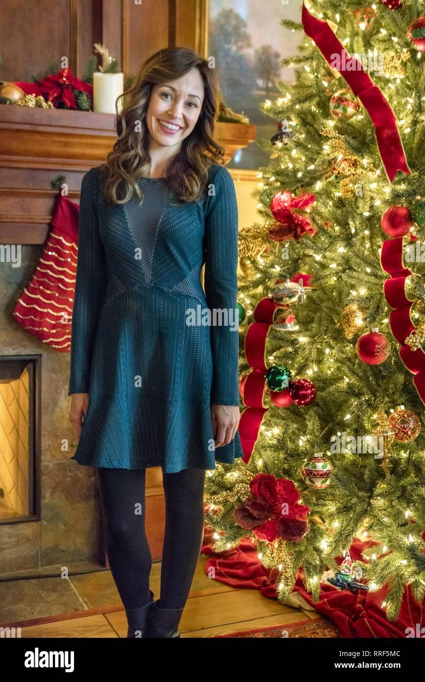 Bramble House Christmas.A Bramble House Christmas Autumn Reeser 2017 Stock Photo