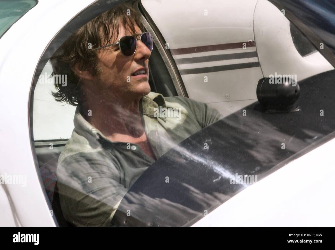 AMERICAN MADE, TOM CRUISE, 2017 - Stock Image