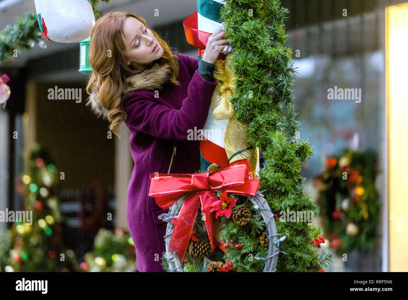 ROCKY MOUNTAIN CHRISTMAS, LINDY BOOTH, 2017 - Stock Image