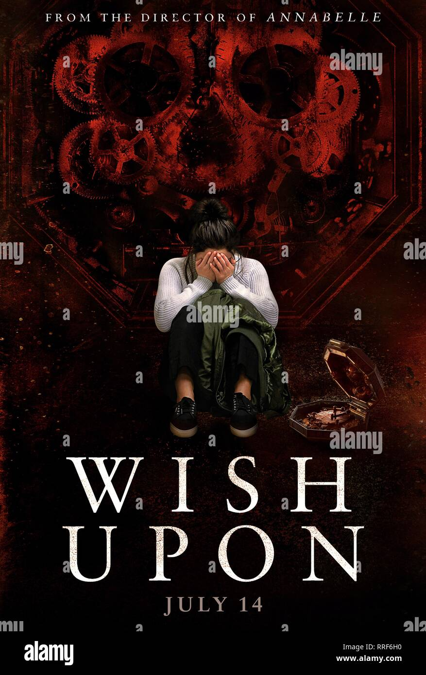 WISH UPON, MOVIE POSTER, 2017 - Stock Image