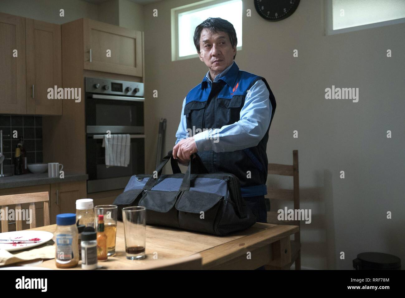 THE FOREIGNER, JACKIE CHAN, 2017 - Stock Image