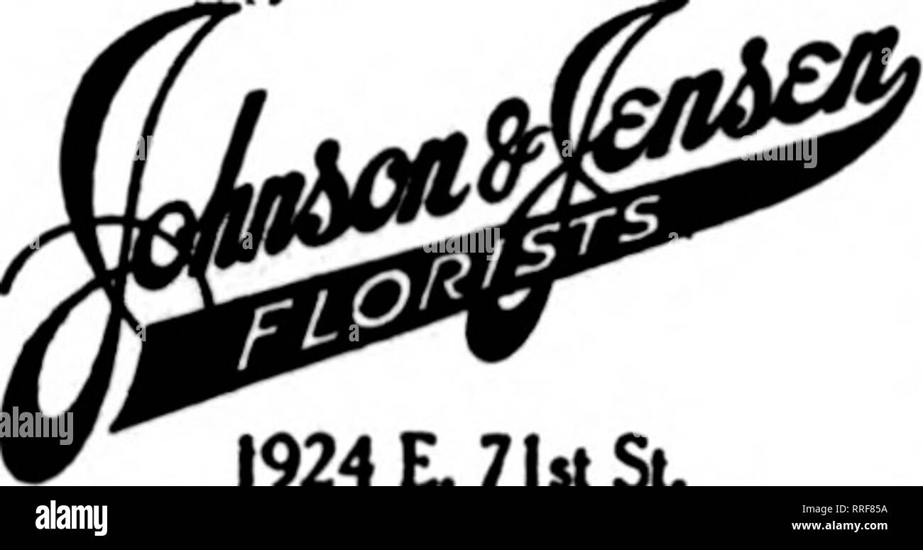. Florists' review [microform]. Floriculture. mBISTS S. E. Cor.47th St. and Lake Park Ave. THE ONEZCELLED PACILITIES OF THE E.WIENHOEBER CO. 22 E. ELM ST., CHICAGO Are aTKllable to the trad« In fllUnr all orders. IfMWlH r. T. D.. 1924 L 71st St, Chicago Ddncfiet mule to any put of tkc dty Hid (oboilM. So^ •in it oar laoMa. CHICAGO, ILL. CONGRESS FLOWER SHOP T. C. FOGARTY, Mgr. 520 S. Michigan Ave. Congress Hotel CHICAGO ItoDiw Po««d Plnb 3530 Michigan Avenue F. T. D. GEORGE FISHER & BRO. 183 N. WABASH AVE. CHICAGO. Please note that these images are extracted from scanned page images that m - Stock Image