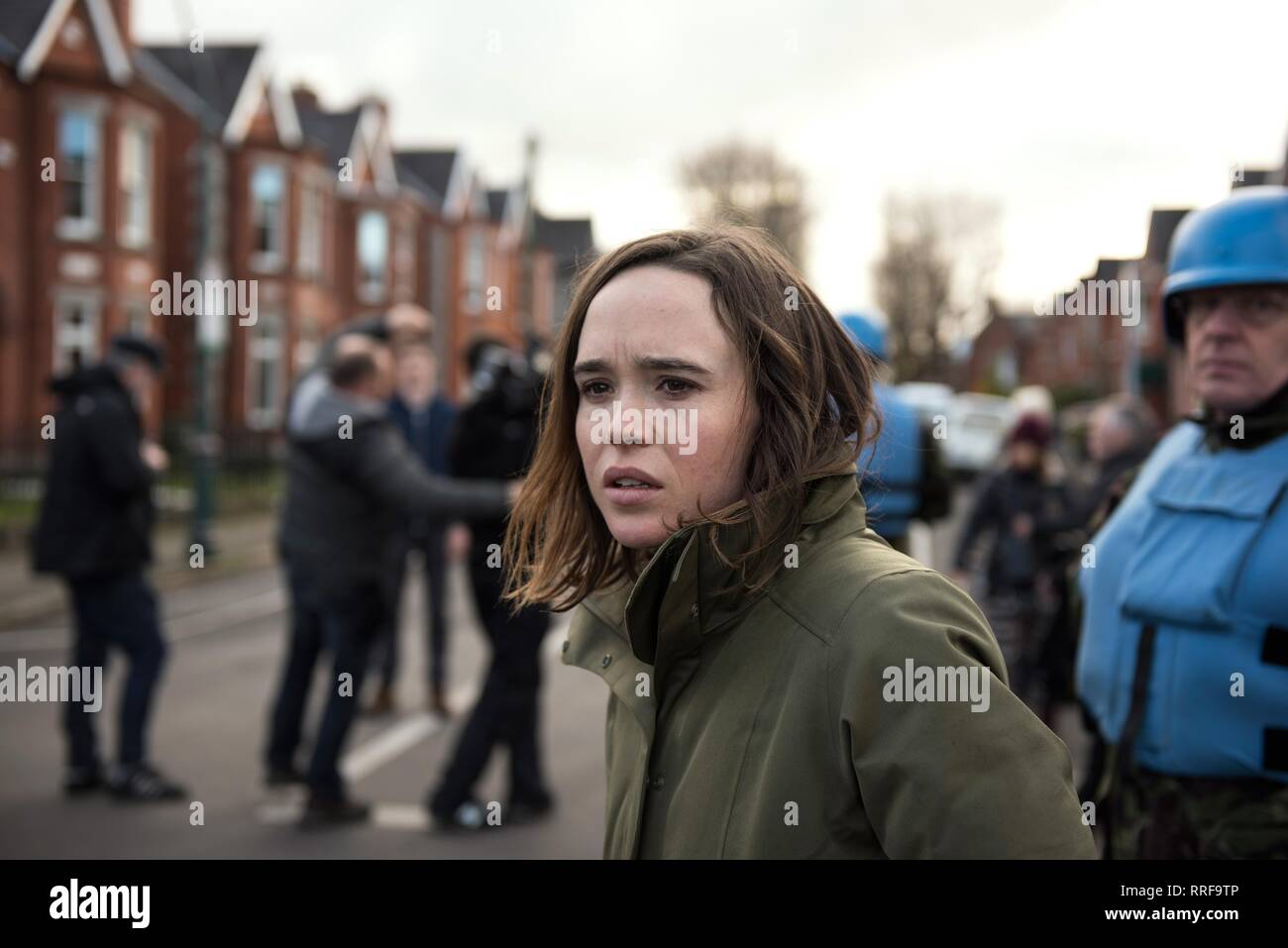 THE CURED, ELLEN PAGE, 2017 - Stock Image