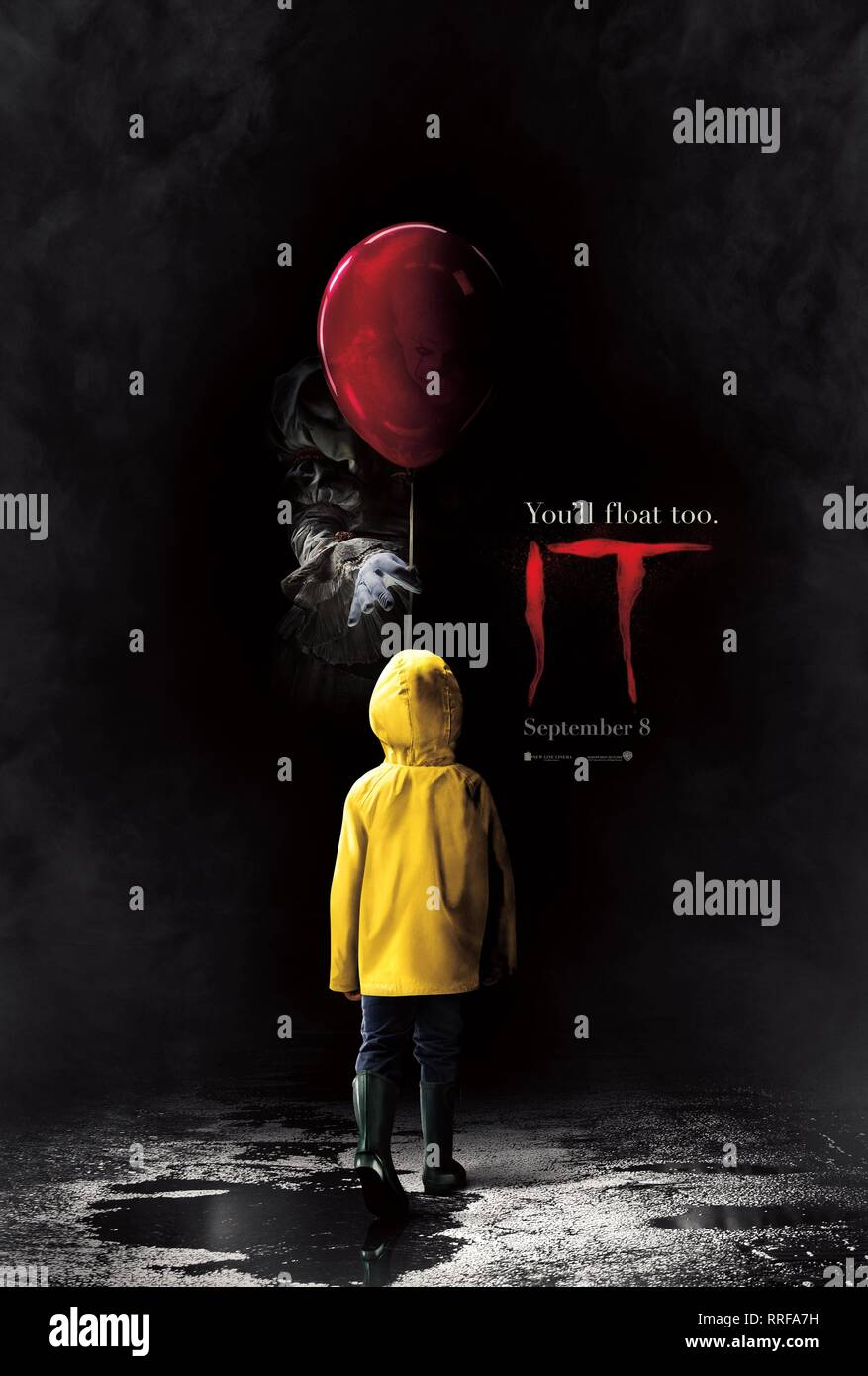 IT, MOVIE POSTER, 2017 - Stock Image