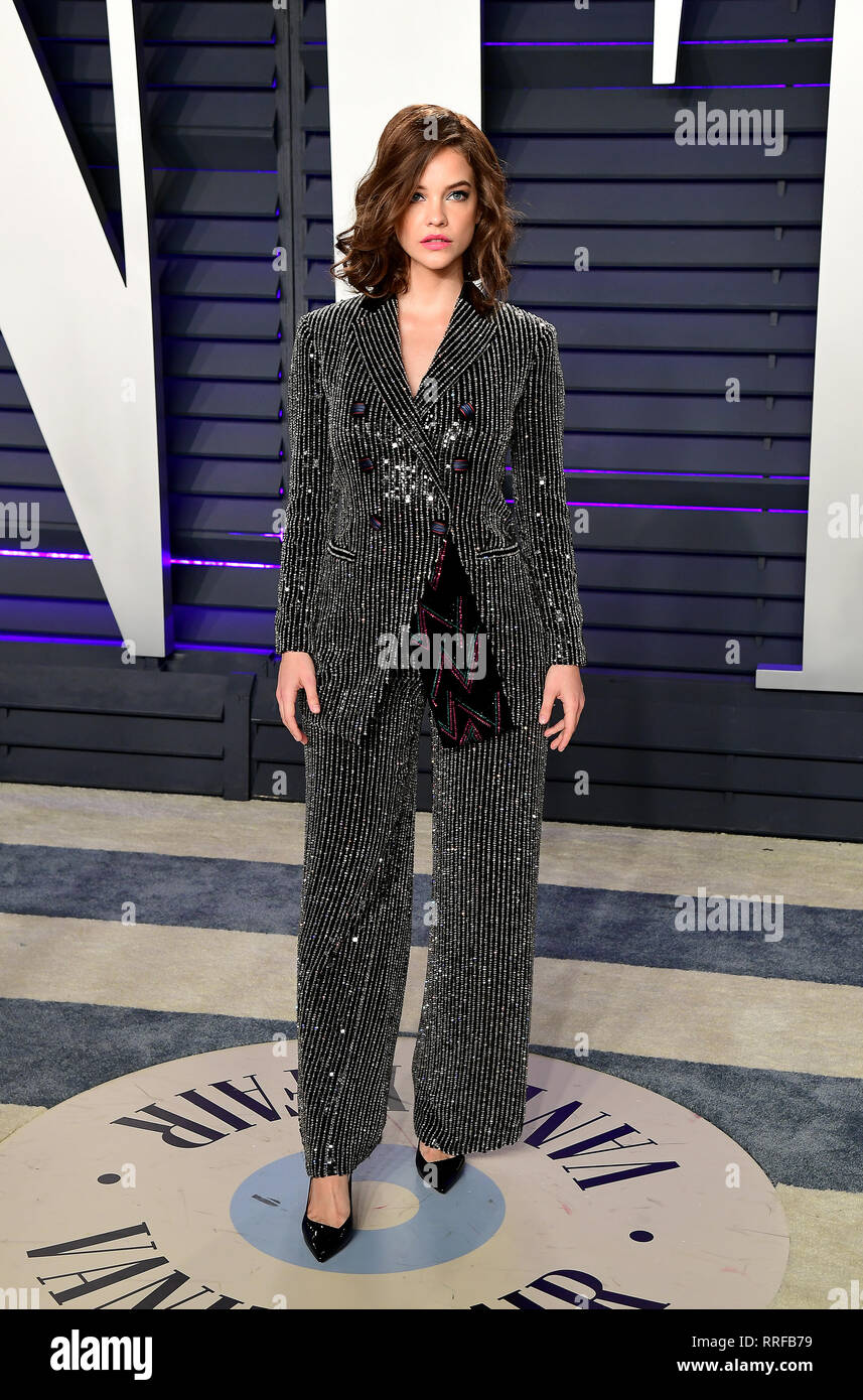 Barbara Palvin Attending The Vanity Fair Oscar Party Held At The Wallis Annenberg Center For The Performing Arts In Beverly Hills Los Angeles California Usa Stock Photo Alamy
