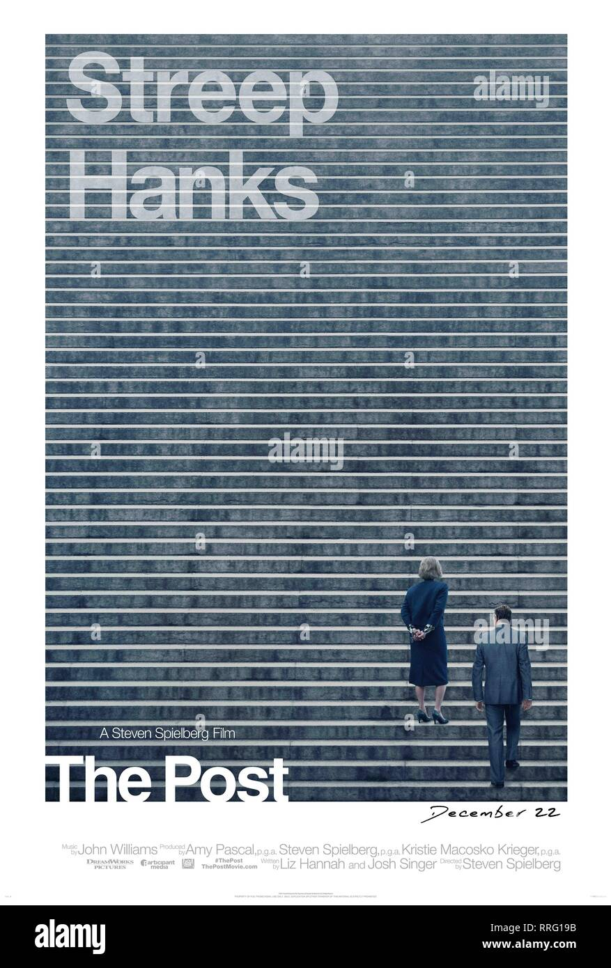 THE POST, MOVIE POSTER, 2017 - Stock Image