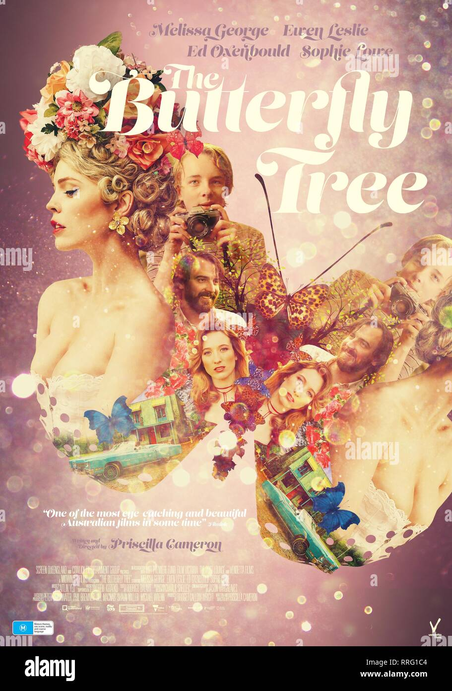 THE BUTTERFLY TREE, MOVIE POSTER, 2017 - Stock Image