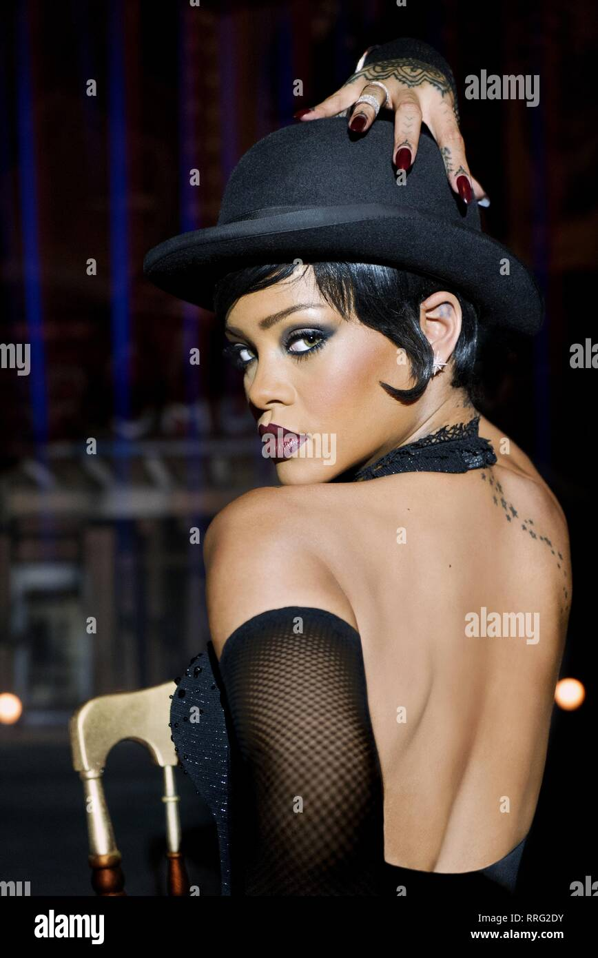 VALERIAN AND THE CITY OF A THOUSAND PLANETS, RIHANNA, 2017 - Stock Image