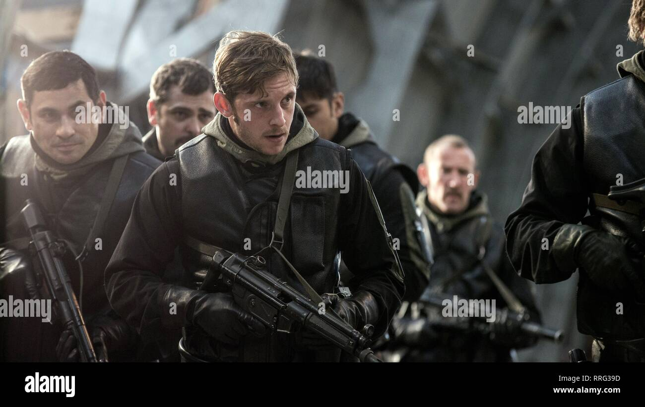 6 DAYS, JAMIE BELL, 2017 Stock Photo