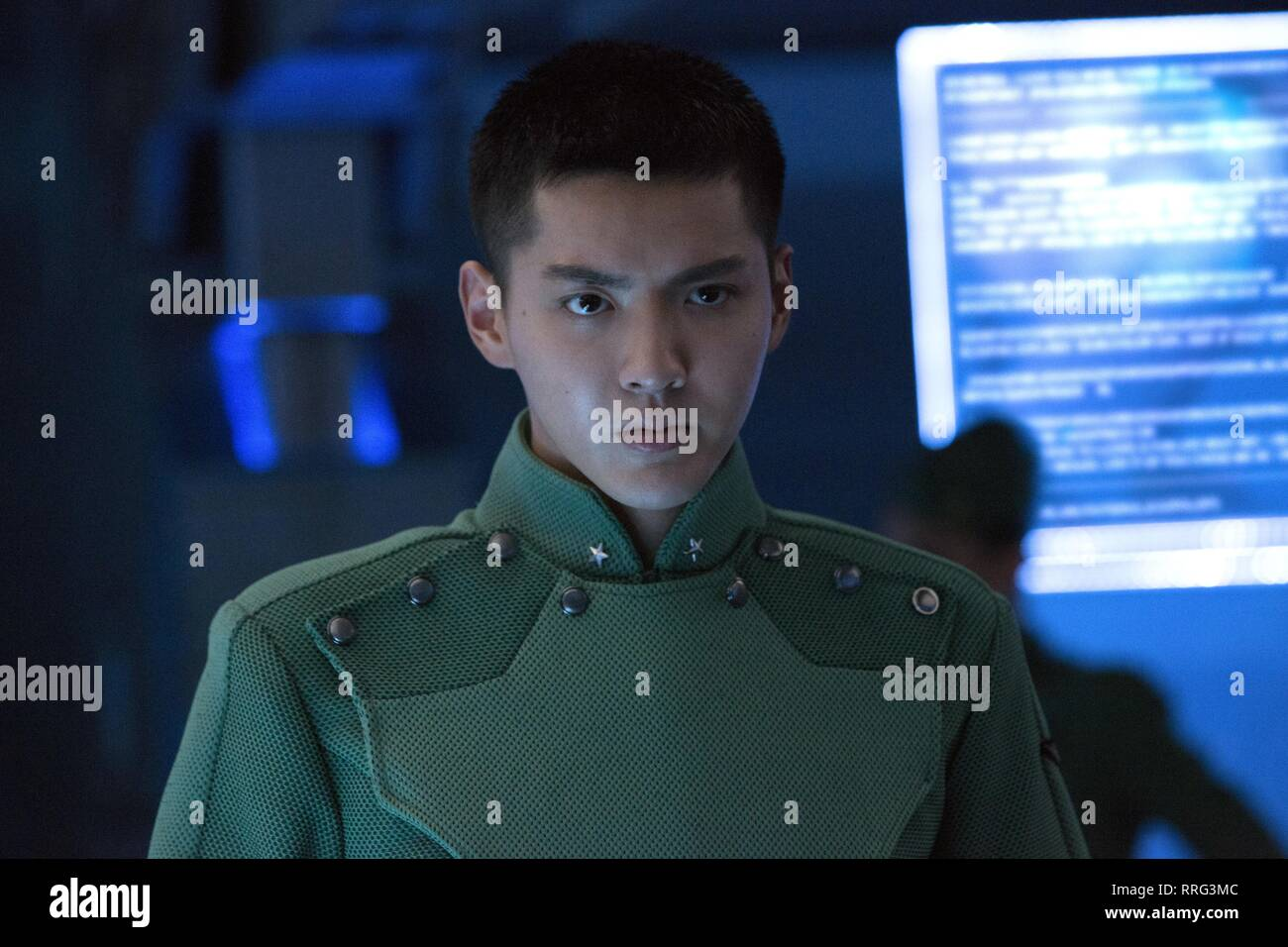 VALERIAN AND THE CITY OF A THOUSAND PLANETS, KRIS WU, 2017 - Stock Image