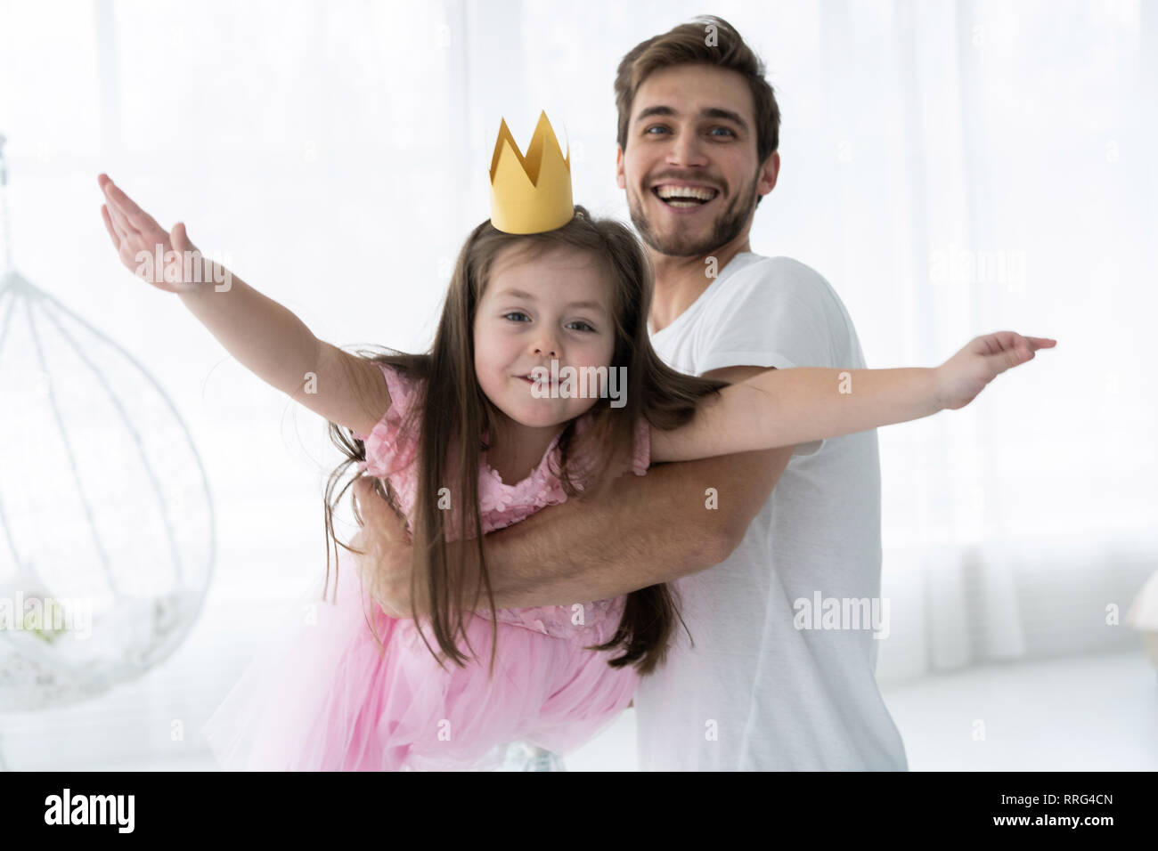Your Very young little girl loves daddy consider