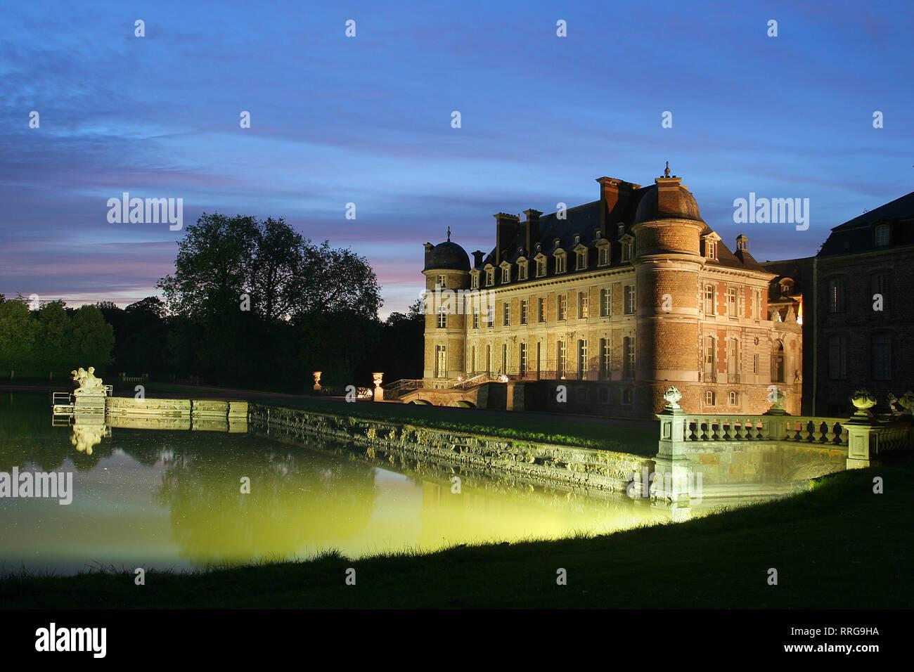 Beloeil Castle, Wallonia, Belgium, Europe - Stock Image