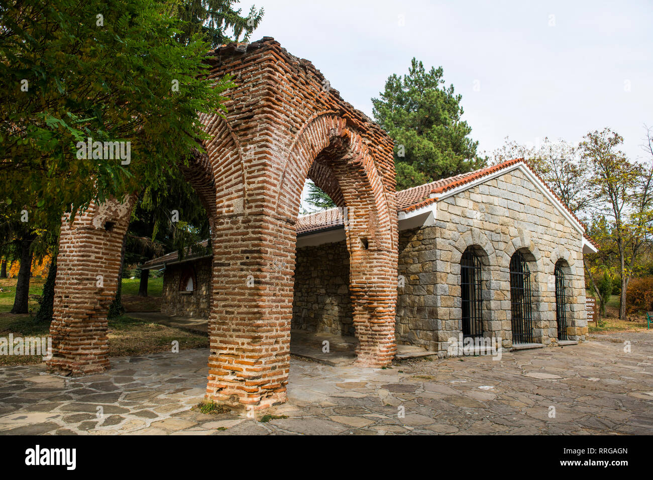 The Thracian Tomb of Kazanlak, UNESCO World Heritage Site, Bulgaria, Europe - Stock Image