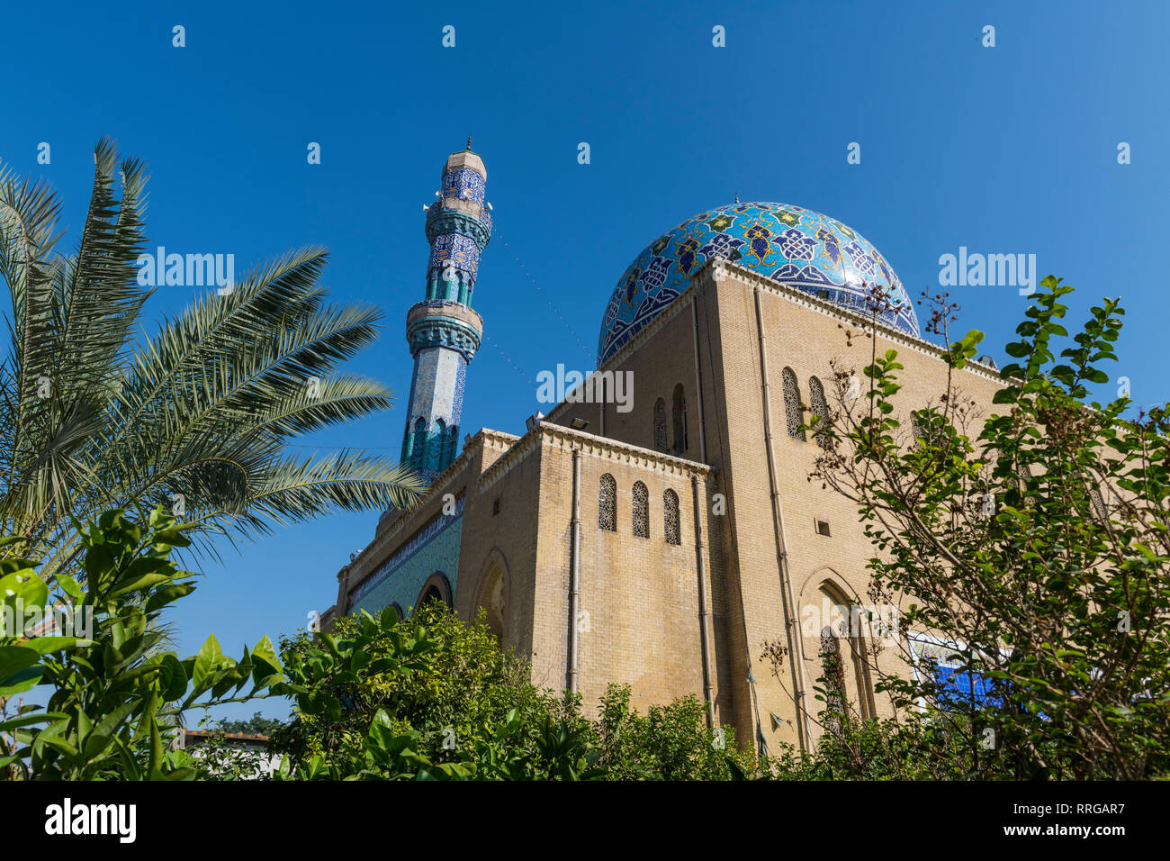 Historic Mosque of 17 Ramadan, Baghdad, Iraq, Middle East - Stock Image