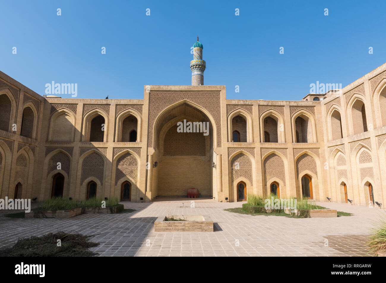 Mustansiriya Madrasah, one of the oldest colleges in the world, Baghdad, Iraq, Middle East - Stock Image