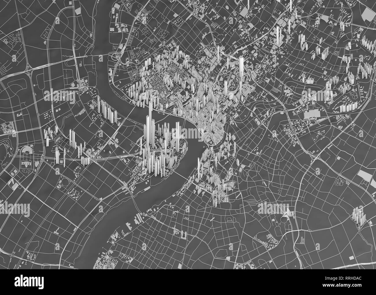 Satellite view of Shanghai, map of the city with house and ... on space maps, radar maps, live maps, lake maps, types of maps, aerial maps, street maps, military maps, temperature maps, digital maps, pomorskie poland maps, msn maps, dvd maps, earth maps, topographical maps, internet maps, weather maps, gis maps, sites atlas thematic maps, topographic maps,
