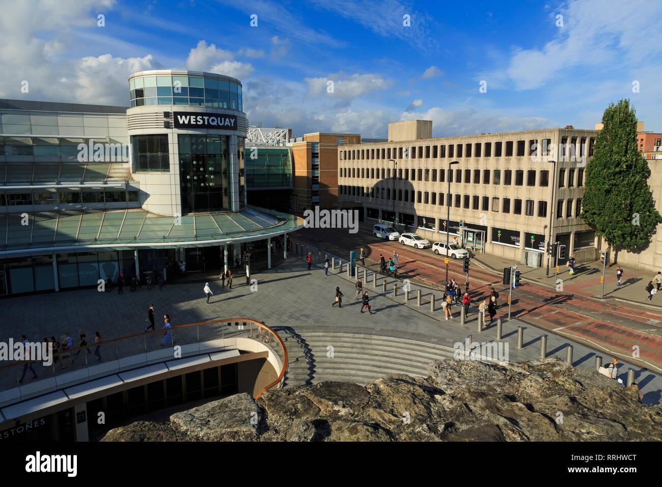 Westquay Shopping Mall, Southampton, Hampshire, England, United Kingdom, Europe - Stock Image