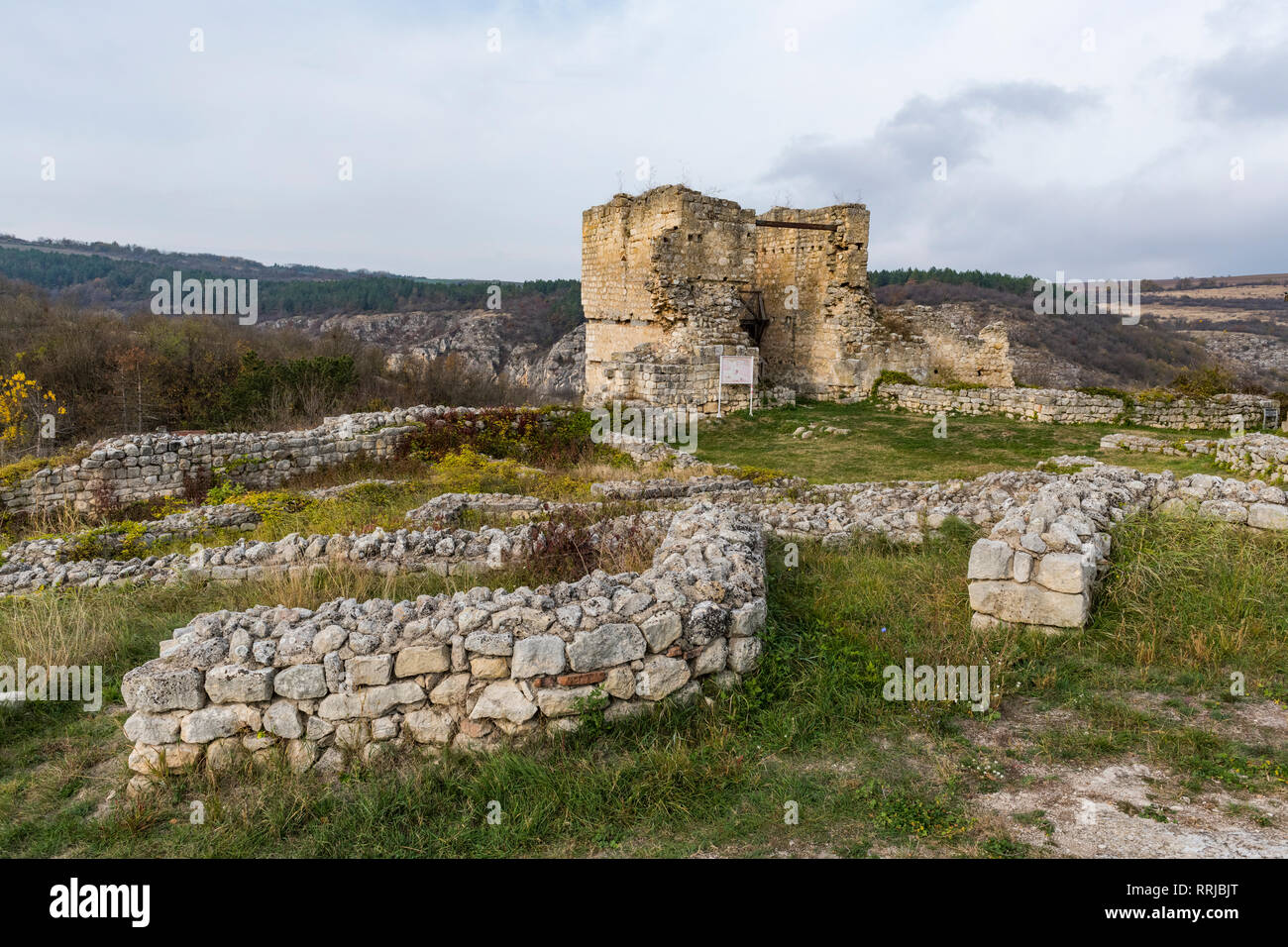 The stronghold of Cherven, Rousse, Bulgaria, Europe - Stock Image