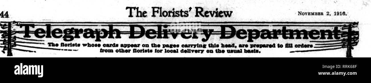 Florists' review [microform]  Floriculture  ??T^W''W^?5r55^'?r7E3»