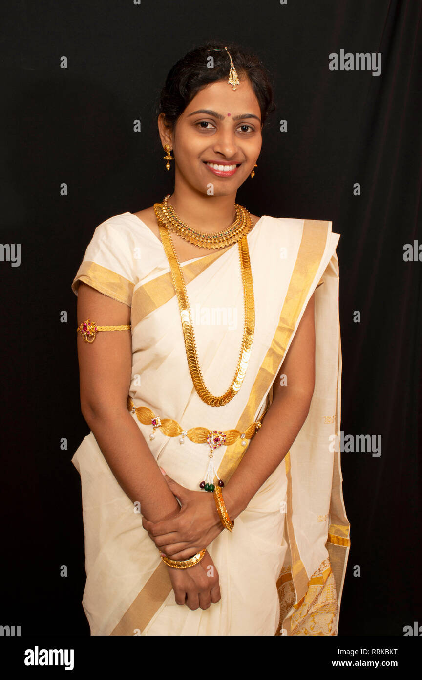 Kerala girls saree