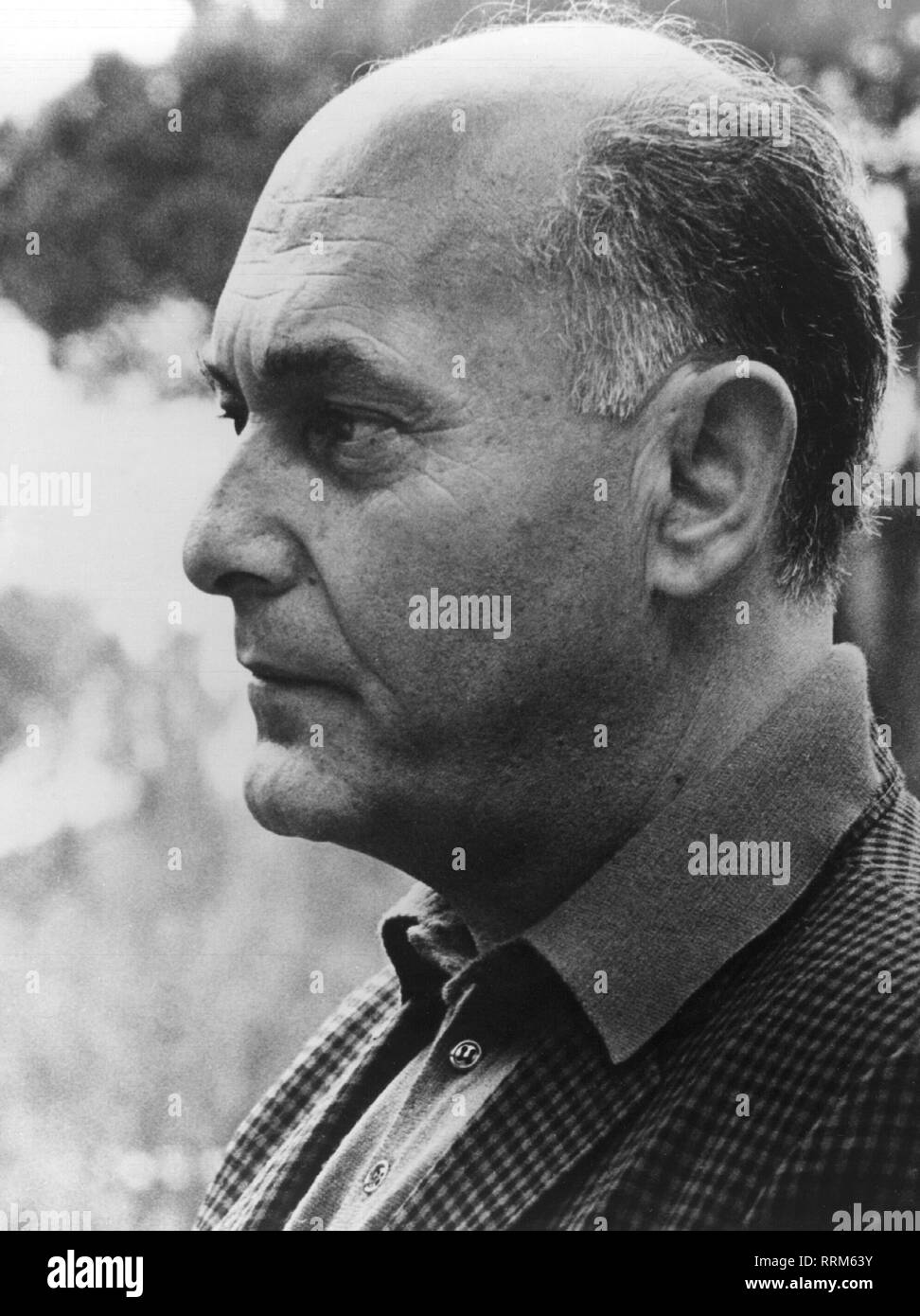 Solti, Georg, 21.10.1912 - 5.9.1997, British conductor of Hungarian origin, portrait, late 1960s,, Additional-Rights-Clearance-Info-Not-Available - Stock Image