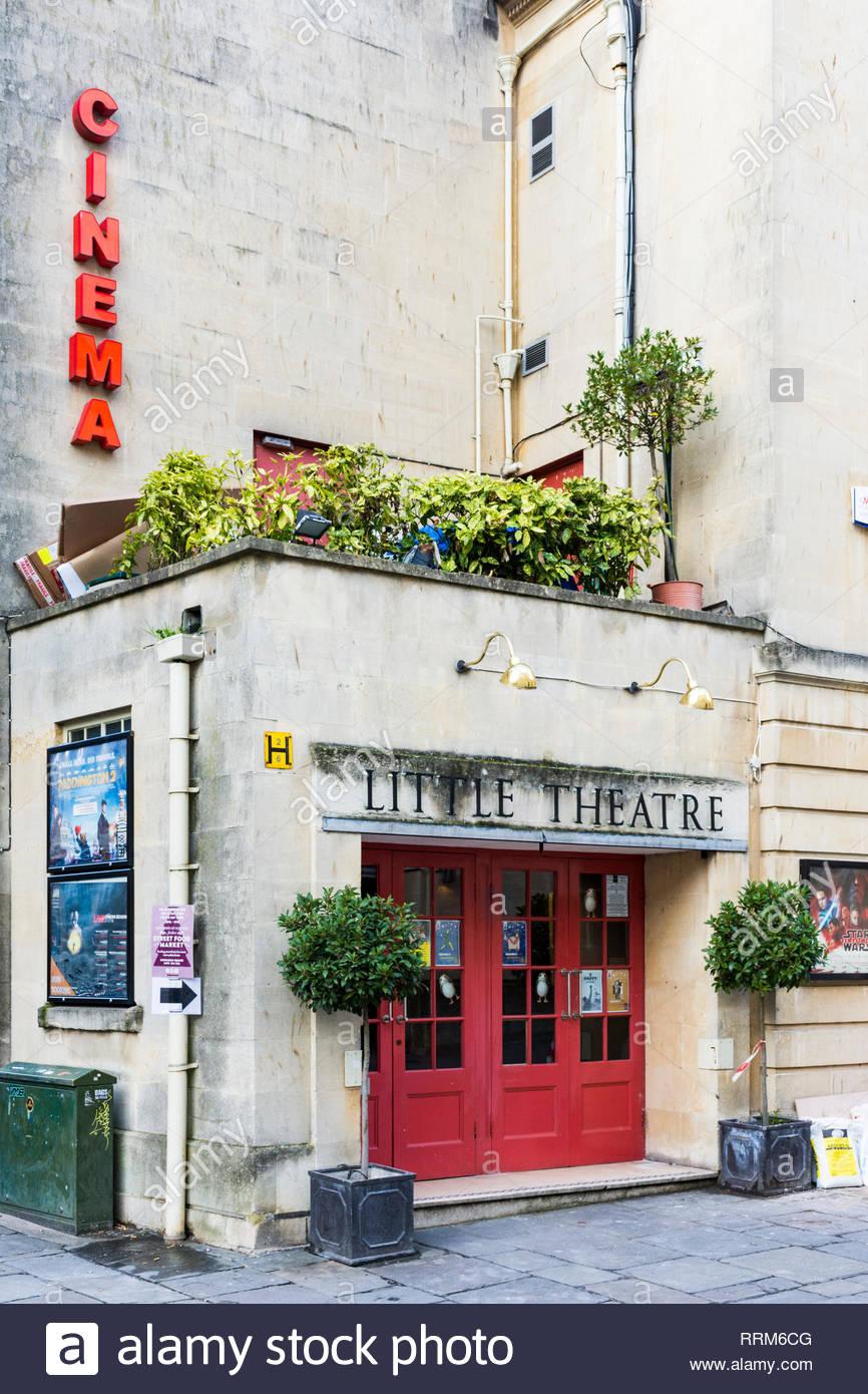 The Little Theatre Cinema in Bath, Somerset, England, UK - Stock Image
