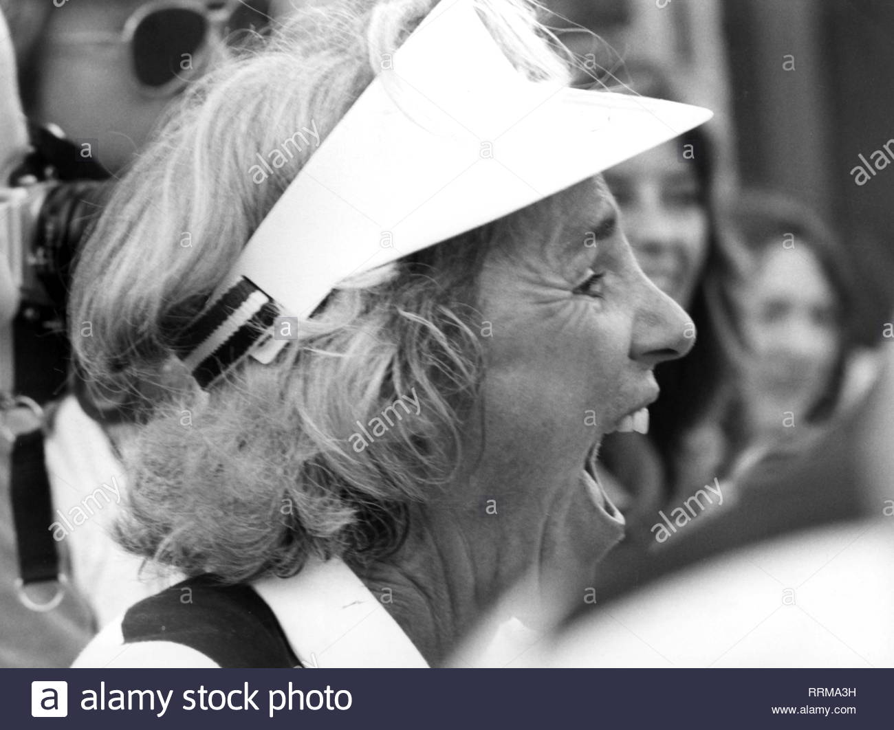 Kennedy, Ethel Skakel, * 11.4.1928, American human rights activist, portrait, during a tennis tournament, August 1979, Additional-Rights-Clearance-Info-Not-Available - Stock Image