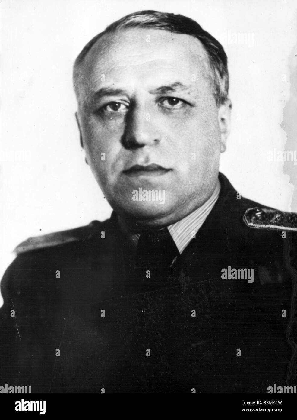 Zorin, Valerian Alexandrovich, 1.1.1902 - 14.1.1986, Soviet diplomat, deputy foreign minister 1947 - 1955, portrait, 1952, Additional-Rights-Clearance-Info-Not-Available - Stock Image
