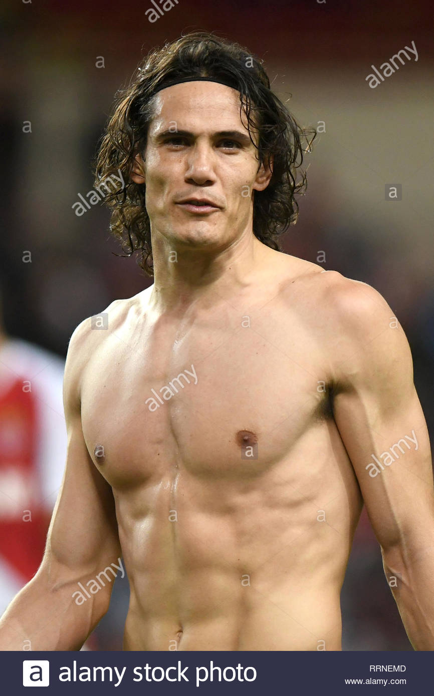 Edinson Cavani Stock Photo Alamy