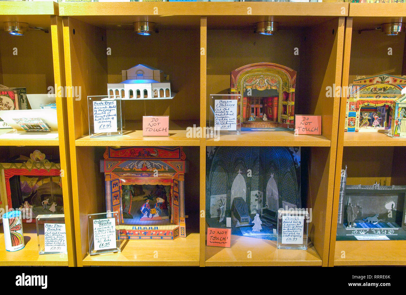 Vintage toys for sale in the vintage toy shop Benjamin Pollack Covent Garden London - Stock Image