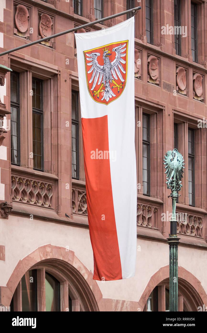 Europa Deutschland Hessen Rhein-Main Frankfurt am Main neue Altstadt Sachsenhausen - Stock Image