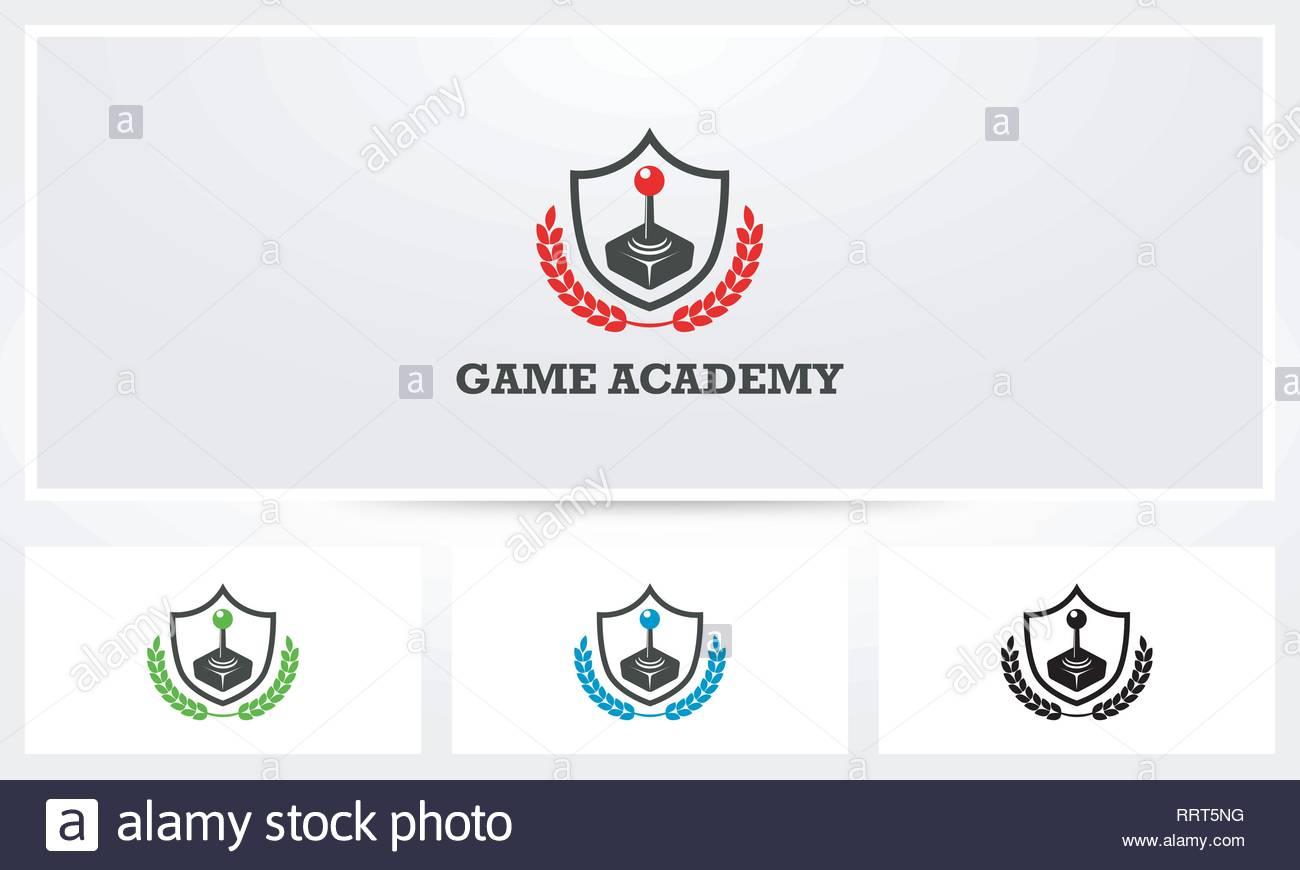 Game Academy Logo - Stock Vector